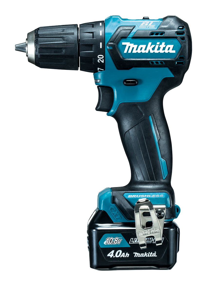 マキタ 10.8V充電式ドライバドリル 青 DF332DSMX バッテリ(4.0Ah)2個 充電器1個 ケース付き