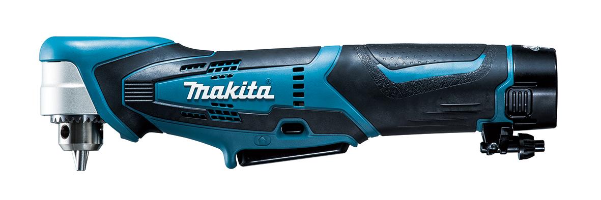 マキタ 10.8Vアングルドリル 青 DA330DW バッテリ(1.3Ah)1個 充電器1個 ケース付き 〈鉄工10mm、木工12mm〉