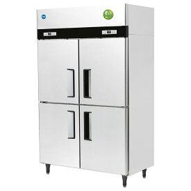 業務用 JCM省エネ タテ型4ドア冷蔵庫 JCMR-1280-I 厚型 100ボルド仕様