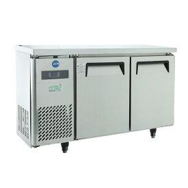 【送料無料】 JCMR-1245T 業務用 JCM省エネ ヨコ型2ドア冷蔵庫薄型 100ボルド仕様 排水設備不要