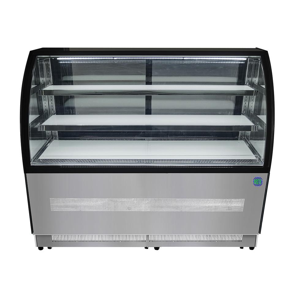 【送料無料】対面冷蔵ショーケース RITS-219T LED照明付