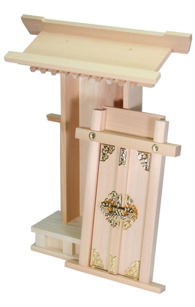 "Altar ""Kiso hinoki: 袖付 shrine"" 1401 a002a"
