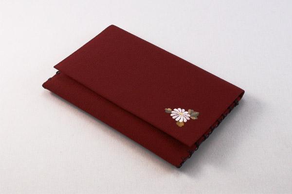 上品で人気の数珠袋 数珠袋 念珠袋 いちりん菊 えんじ 念珠入 クリックポスト配送のみ:送料無料 数珠入 訳あり商品 k06002 全品最安値に挑戦