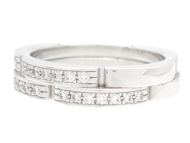 official photos 177dd d9a42 リング 【送料無料】Cartier カルティエ #50【412】【中古 ...