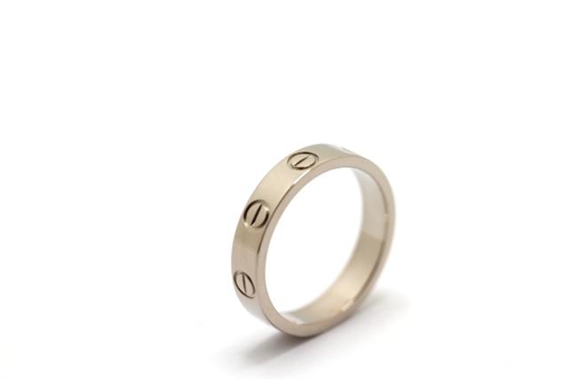 Cartier カルティエ ミニラブリング 指輪 WG 48号473大黒屋4jLq3S5RcA