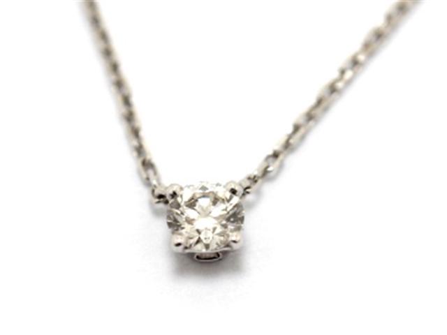 【送料無料】Cartier カルティエ 1895 ネックレス プチネックレス WG ダイヤモンド GIA付 【460】【中古】【大黒屋】
