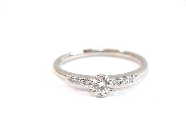 JEWELRY ノンブランド ジュエリー リング 指輪 PT900 プラチナ ダイヤモンド 12号【432】【中古】【大黒屋】