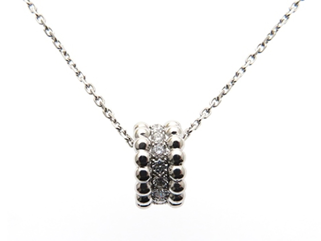 【送料無料】Van Cleef & Arpels 貴金属・宝石 ネックレス  ペルレ ホワイトゴールド ダイヤモンド VCARO25100 【430】【中古】【大黒屋】