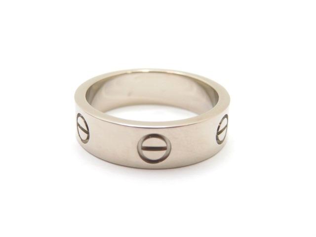 【送料無料】Cartier カルティエ リング 指輪 ラブリング K18ホワイトゴールド 58号 10.0g 【473】【中古】【大黒屋】