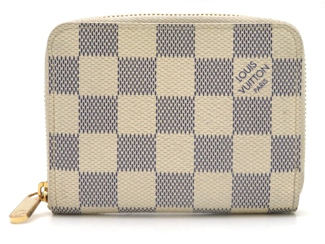 LOUIS VUITTON ルイヴィトン ジッピー・コインパース 小銭入れ ダミエ・アズール N63069【471】【中古】【大黒屋】