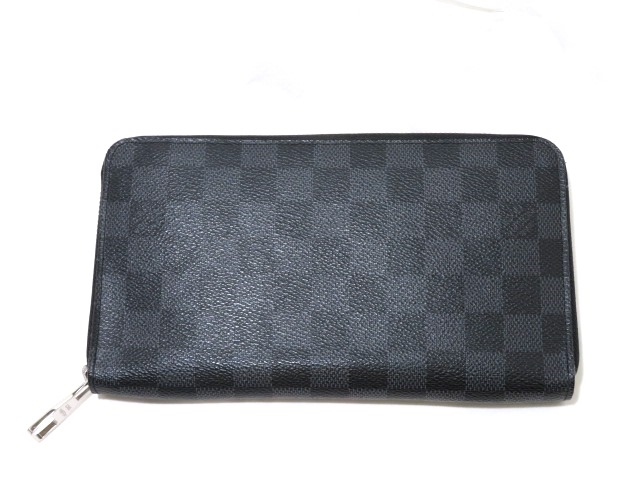 LOUIS VUITTON  ルイ・ヴィトン ダミエ・グラフィット ジッピー・オーガナイザー N63077 MY【472】【中古】【大黒屋】
