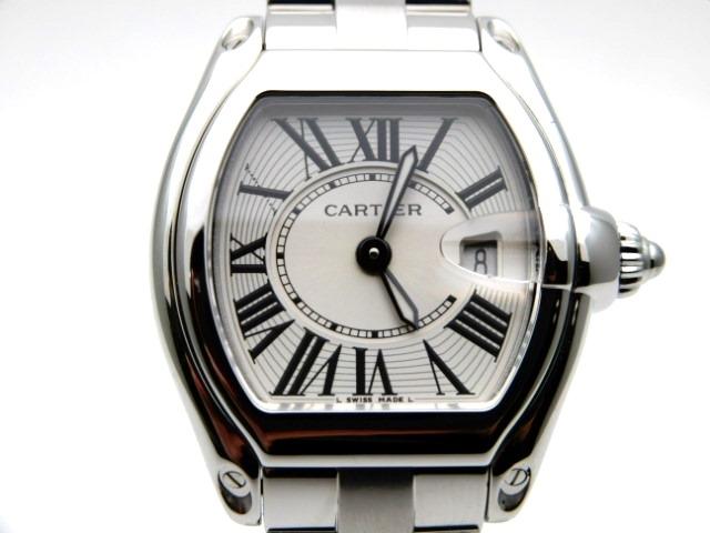【送料無料】Cartier カルティエ ミニロードスター 時計 クオーツ SS 【431】【中古】【大黒屋】