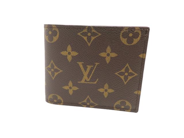 【送料無料】LOUIS VUITTON  ルイヴィトン 二つ折財布 財布 モノグラム  M62288 【472】【中古】【大黒屋】