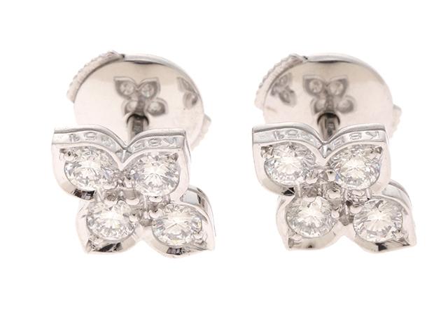 【送料無料】Cartier 貴金属・宝石 ヒンドゥ ピアス ヒンドゥピアス/WG/D/2.4g【430】【中古】【大黒屋】
