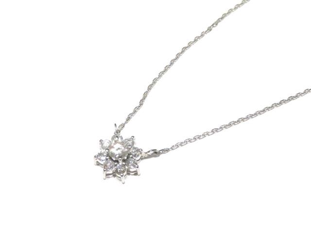 JEWELRY ネックレス プラチナ PT850 ダイヤモンド D0.50ct 【204】【中古】【大黒屋】
