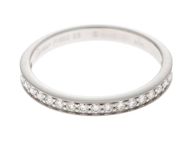 【送料無料】Cartier カルティエ 1895 バンドリング プラチナ ダイヤモンド 3.8g #58【200】【中古】【大黒屋】