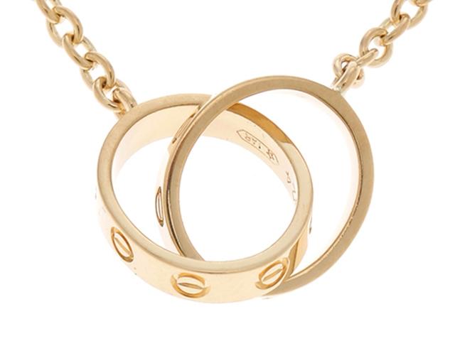 【送料無料】Cartier カルティエ 貴金属・宝石 ネックレス ミニラブネックレス K18イエローゴールド SS【472】【中古】【大黒屋】