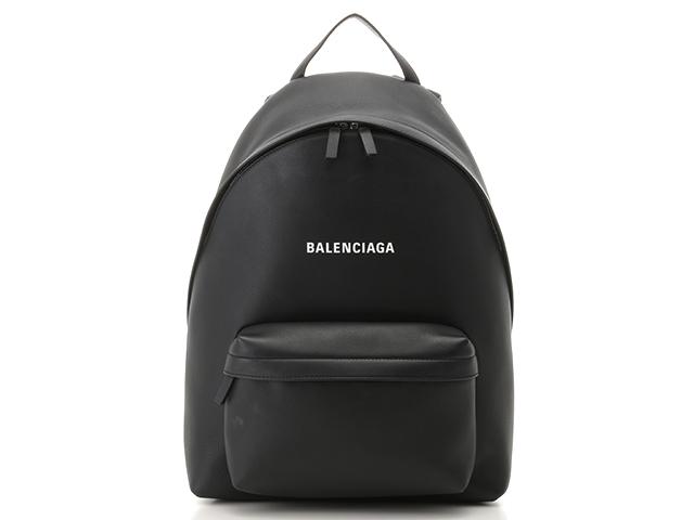 【送料無料】BALENCIAGA バレンシアガ エブリディバックパック バックパック カーフ ブラック【472】【中古】【大黒屋】