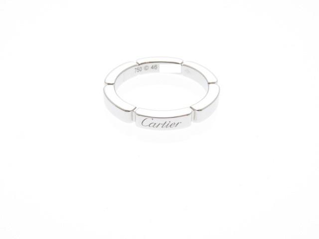 Cartier カルティエ WG マイヨンパンテールリング 46号(日本サイズ6号)  【432】【中古】【大黒屋】