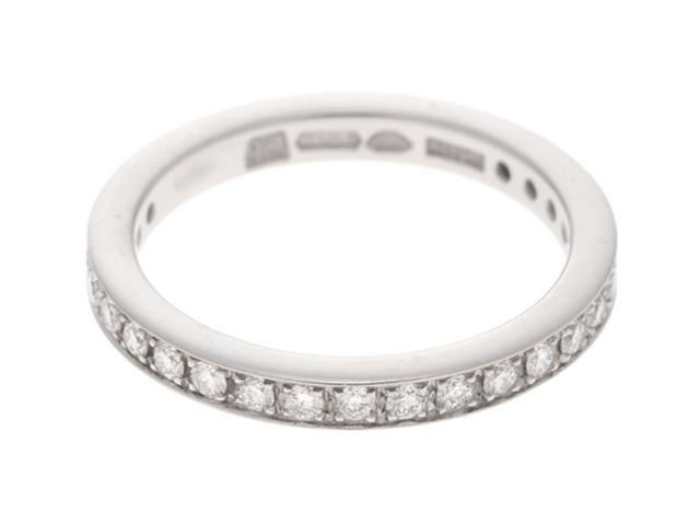 【送料無料】BVLGARI ブルガリ デディカータアヴェネチア リング 指輪 PT950 ダイヤモンド 7号 2.8g【434】【中古】【大黒屋】
