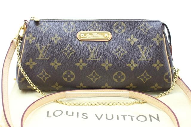 【送料無料】LOUIS VUITTON ルイ・ヴィトン エヴァ M95567 モノグラム チェーンショルダーバッグ 【436】【中古】【大黒屋】