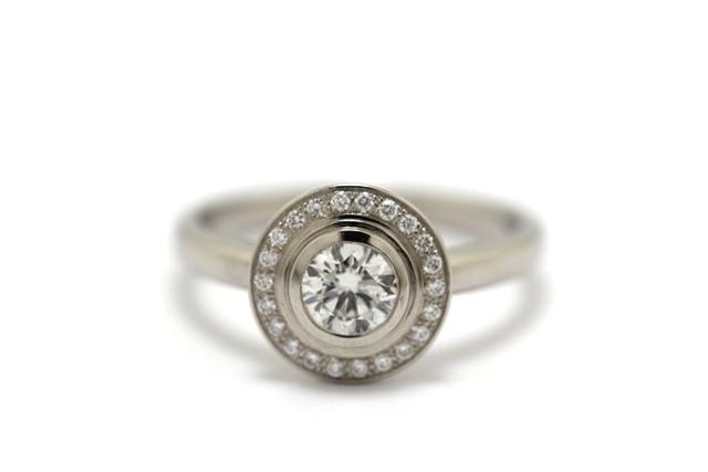 【送料無料】Cartier カルティエ ダムール リング 指輪 PT950 ダイヤモンド 0.40ct 50号 GIA付 【460】【中古】【大黒屋】