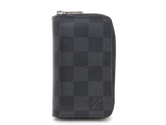 LOUIS VUITTON ルイヴィトン ジッピー・コインパース 小銭入れ コインケース ダミエ・グラフィット N63076 【474】【中古】【大黒屋】