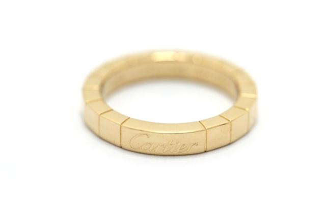 【送料無料】Cartier カルティエ ラニエール リング 指輪 YG 48号 【413】【中古】【大黒屋】