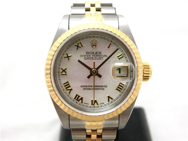 【送料無料】ROLEX ロレックス 時計 デイトジャスト 69173NR オートマチック  レディース T番【472】【中古】【大黒屋】