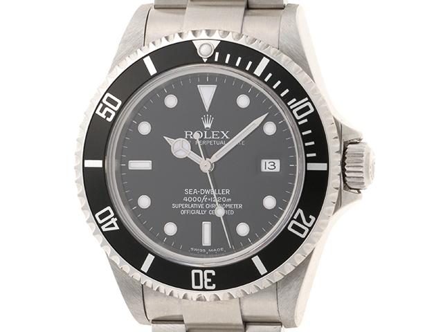 【送料無料】ROLEX 時計 ロレックス シードゥエラー 16600 生産終了モデル D番 メンズ 自動巻き ステンレス SS 【430】【中古】【大黒屋】
