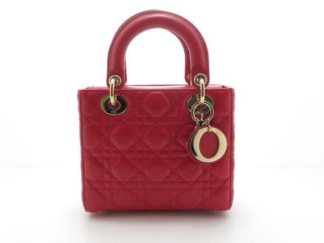 【送料無料】Dior レディーディオール ラムスキン