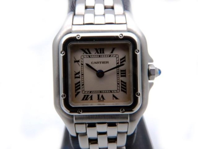 【送料無料】Cartier 時計 パンテール クオーツ パンテールSM SS W25033P5【431】【中古】【大黒屋】