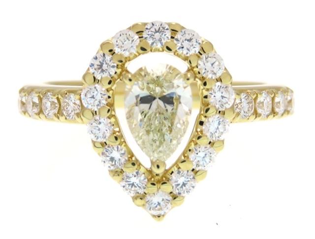 [送料無料]TASAKI タサキ 貴金属・宝石 ダイヤモンド リング K18 #9【433】【中古】【大黒屋】