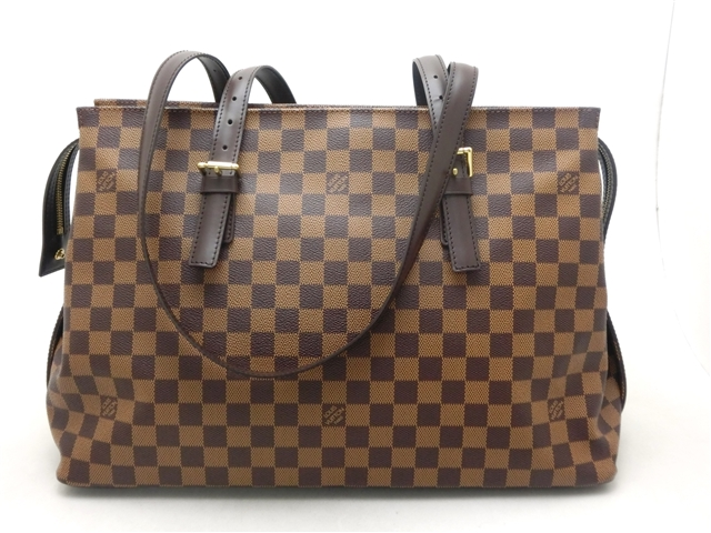 【送料無料】LOUIS VUITTON バッグ チェルシー トートバッグ ダミエ N51119【204】【中古】【大黒屋】
