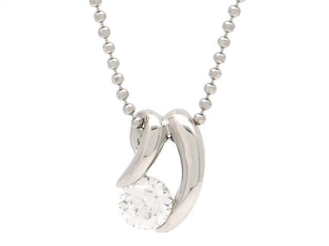 【送料無料】JEWELRY 貴金属・宝石 ダイヤネックレス ネックレス プラチナ PT850 ダイヤモンド 0.326ct 4.2g 【200】【中古】【大黒屋】