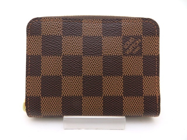 LOUIS VUITTON ルイヴィトン 財布 小銭入れ コインケース ジッピー・コインパース N63070 ダミエ【473】【中古】【大黒屋】