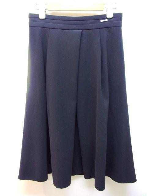 FOXEY NEW YORK  フォクシーニューヨーク  スカート 40 ブラック ポリエステル 【432】【中古】【大黒屋】