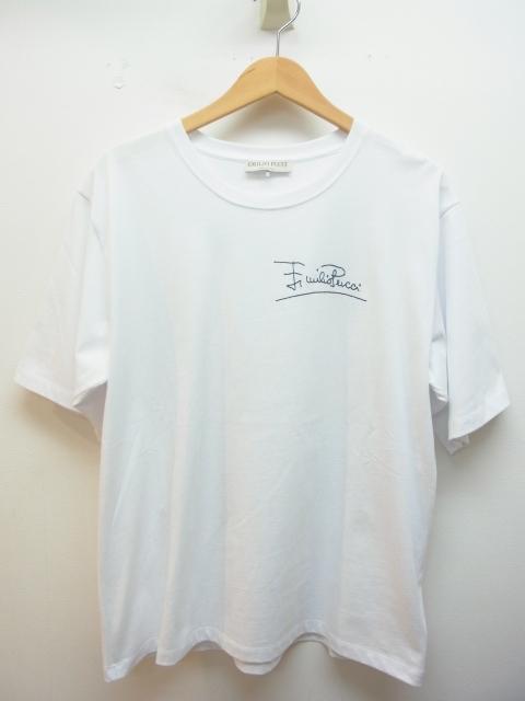 EMILIO PUCCI エミリオプッチ Tシャツ レディースM コットン ホワイト 【432】【中古】【大黒屋】