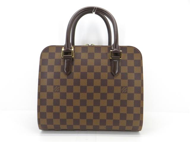 【送料無料】LOUIS VUITTON ルイ・ヴィトン トリアナ ハンドバッグ バッグ ダミエ N51155 【200】【中古】【大黒屋】