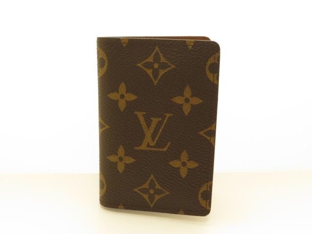 LOUIS VUITTON サイフ・小物 カードケース ケース ポケットオーガナイザー モノグラム M60502【430】【中古】【大黒屋】