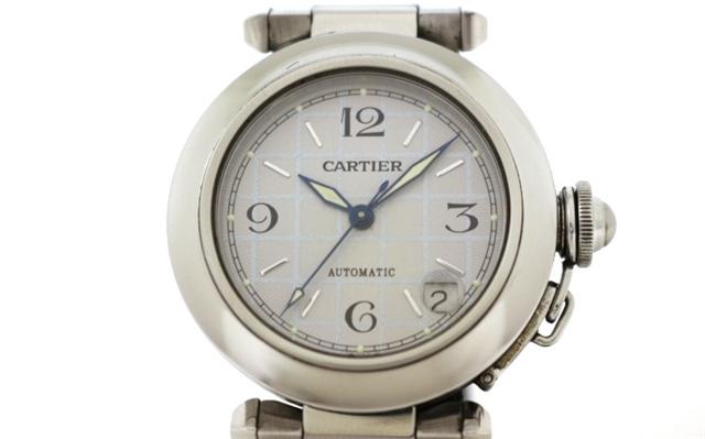 【送料無料】Cartier カルティエ パシャC オートマチック SS【200】【中古】【大黒屋】