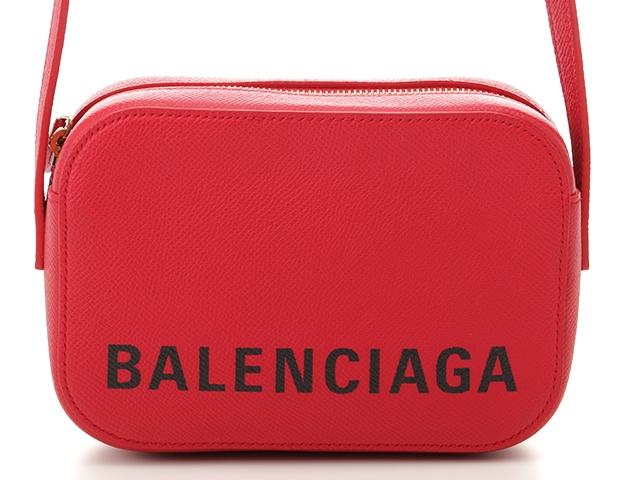 【国内発送】 BALENCIAGA バレンシアガ カメラバッグXSショルダーバッグ レッド 型押し【472】【】【大黒屋】, BAS CLOTHING ef181ef3