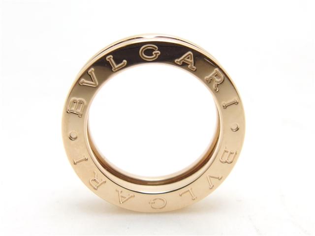 【送料無料】BVLGARI ブルガリ 貴金属・宝石 B-zero1 リング XSサイズ R/PG/7.2g/#49 【435】【中古】【大黒屋】