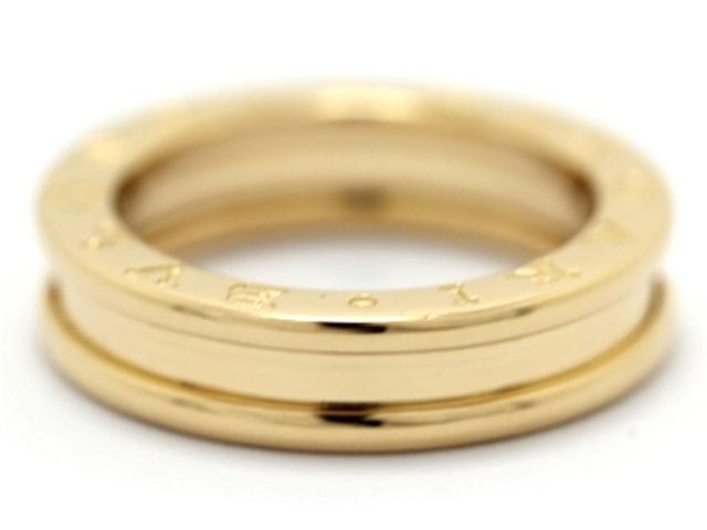 【送料無料】BVLGARI ブルガリ B-zero1 ビーゼロワン リング 指輪 XSサイズ YG 50号 【460】【中古】【大黒屋】