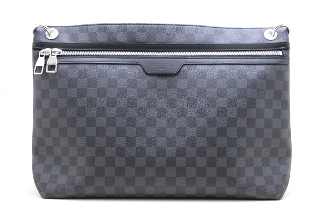 LOUIS VUITTON ルイヴィトン バッグ ショルダーバッグ ダミエ・グラフィット ハンター N41656 YI 【472】【中古】【大黒屋】
