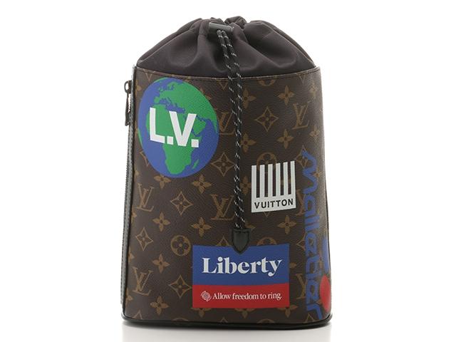 LOUIS VUITTON ルイ・ヴィトン ショルダーバッグ モノグラム チョーク・スリングバッグ M44625 【432】【中古】【大黒屋】