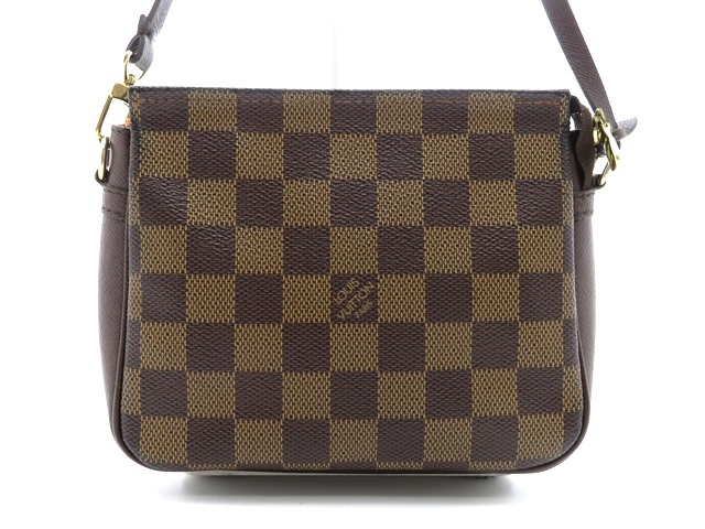LOUIS VUITTON ルイヴィトン ポーチ トゥルース・メイクアップ ダミエ N51982 【474】【中古】【大黒屋】