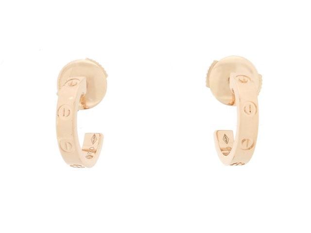 【送料無料】Cartier カルティエ 貴金属・宝石 ラブピアス ピアス PG ピンクゴールド 3.2g B8029000 【200】【中古】【大黒屋】