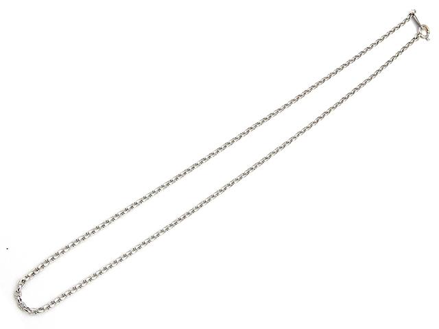 【送料無料】JEWELRY 貴金属・宝石 ネックレス K18ホワイトゴールド【432】【中古】【大黒屋】