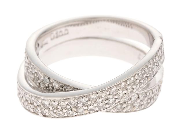 【送料無料】JEWELRY ノンブランドジュエリー リング 指輪 K18WG ダイヤモンド 1.00ct 11号 【460】【中古】【大黒屋】
